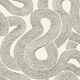 Tapetti Sandberg Zen mustavalkoinen 805-01, 0.53x10.05m, non-woven