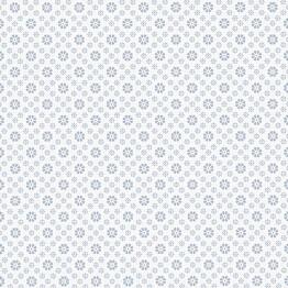 Tapetti Sandudd Metsäpolku 5257-3, 0,53x11,2m, valkoinen/sininen, non-woven