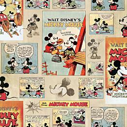 Tapetti Sandudd Mickey Vintage Episode 70-242 0.53x10.5m