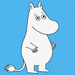 Tapetti Sandudd Moomin 5181-1, 0,53x11,2m, sininen, non-woven