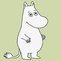 Tapetti Sandudd Moomin 5181-3, 0,53x11,2m, vihreä, non-woven