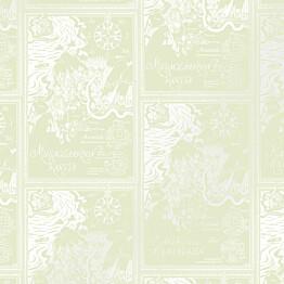 Tapetti Sandudd Muumi 5348-10, 0.53x10.05m, vihreä, non-woven