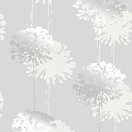 Tapetti Sandudd Rolleri 9 5281-4, 0,53x11,2m, valkoinen/hopea, non-woven