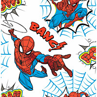 Tapetti Sandudd Spiderman Pow! 108553 0.53x10.5m