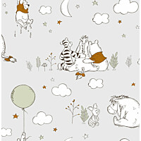 Tapetti Sandudd Winnie The Pooh Up Up and Away 108594 0.53x10.5m