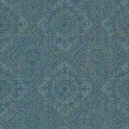 Tapetti Tapetit.fi Clarence CR3105 0.53x10.05m non-woven sininen/kulta