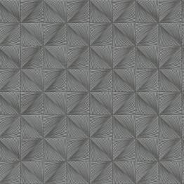 Tapetti Tapetit.fi Clarence CR3508 0.53x10.05m non-woven hopea/harmaa