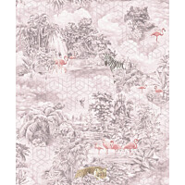 Tapetti Tapetit.fi Kaleidoscope Mayang Pink 90662