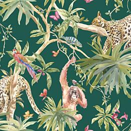 Tapetti Tapetit.fi Kaleidoscope Samroze Green 90563