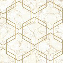 Tapetti Tapetit.fi Kaleidoscope Ventura Beige/Gold 90602