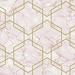 Tapetti Tapetit.fi Kaleidoscope Ventura Pink 90601