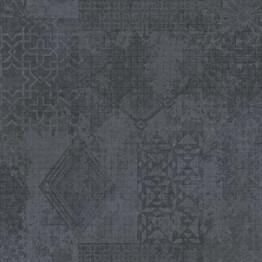 Tapetti YALA Mosaic Grey YA19573 0,53x10,05 m musta/harmaa non-woven