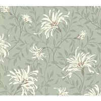 Tapetti 1838 Wallcoverings Fairhaven siniharmaa 0,52x10,05 m