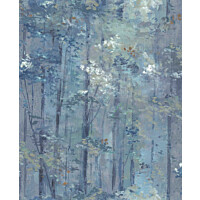 Tapetti 1838 Wallcoverings Glade sininen 0,52x10,05 m