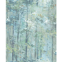 Tapetti 1838 Wallcoverings Glade turkoosi 0,52x10,05 m