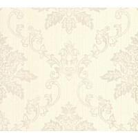 Tapetti 1838 Wallcoverings Hampton beige/kiiltävä 0,52x10,05 m