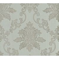 Tapetti 1838 Wallcoverings Hampton sininen/hopea 0,52x10,05 m