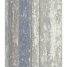 Tapetti 1838 Wallcoverings Linea sininen/beige 0,52x10,05 m