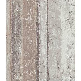 Tapetti 1838 Wallcoverings Linea vaaleanpunainen/beige 0,52x10,05 m