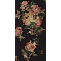 Tapetti 1838 Wallcoverings Madama Butterfly musta 0,52x10,05 m