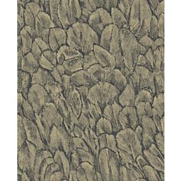Tapetti 1838 Wallcoverings Tranquil foil kultainen 0,52x10,05 m