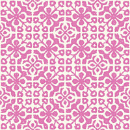 Tapetti Azulejos Tiles 128046 0,53x10,05 m pinkki/valkoinen non-woven