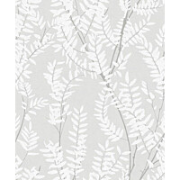 Tapetti Feeling FE20216 Leaves Ecodeco 0,53x10,05 m harmaa