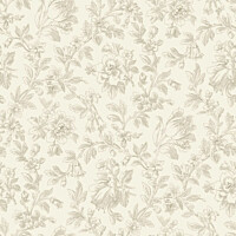 Tapetti Fine Flowers 127626 0,53x10,05 m ruskea non-woven