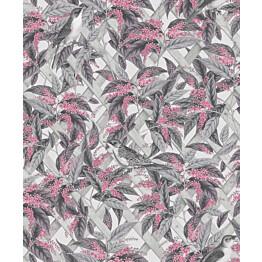 Tapetti Glasshouse 90332 Brassica Pink/Grey 0,53x10,05 m monivärinen