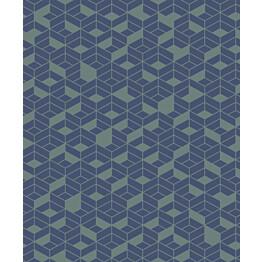 Tapetti HookedOnWalls Flake sininen 0,53x10,05 m