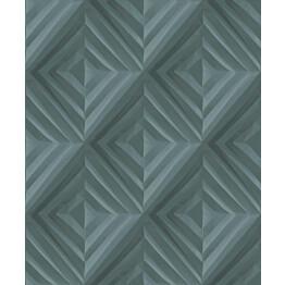 Tapetti HookedOnWalls Fold sinivihreä 0,52x10,05 m