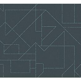 Tapetti HookedOnWalls Outline tummanvihreä 0,70x10,05 m