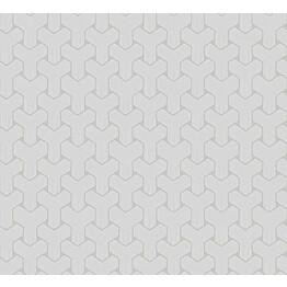 Tapetti HookedOnWalls Ypsilon hopea 0,70x10,05 m