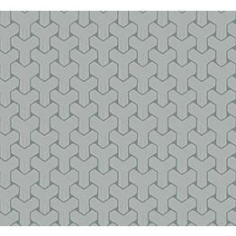 Tapetti HookedOnWalls Ypsilon sininen 0,70x10,05 m