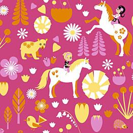 Tapetti Kevätlaulu 5224-1 0,53x11,2 m pinkki