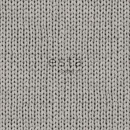Tapetti Knitting 137721 0,53x10,05 m harmaa non-woven