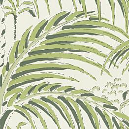 Tapetti Långelid/Von Brömssen Palm house vihreä 0,53x10,05 m non-woven