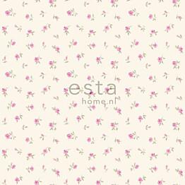 Tapetti Little Roses 137701 0,53x10,05 m vaaleanpunainen non-woven