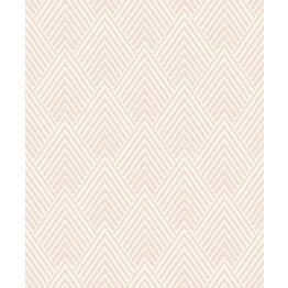 Tapetti Natural Forest Tolga NF3008 0,53x10,05 m vaaleanpunainen/valkoinen