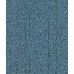 Tapetti Nuances NU3306 0,53x10,05 m sininen/hopea