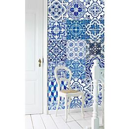 Tapetti PhotoWallXL Azulejos 158002 46,5 cm x 8,35 m non-woven