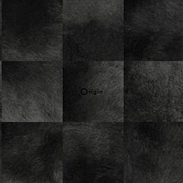 Tapetti Raw Elegance 347326 0,53x10,05 m musta/harmaa