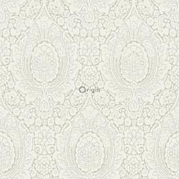 Tapetti Raw Elegance 347328 0,53x10,05 m valkoinen/beige/kiiltävä