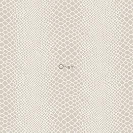 Tapetti Raw Elegance 347339 0,53x10,05 m beige/hopea/kiiltävä