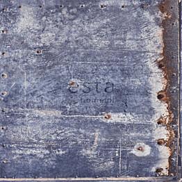 Tapetti Rusty Metal 138219 0,53x10,05 m sininen