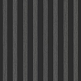 Tapetti Stripes 127619 0,53x10,05 m musta non-woven