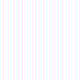 Tapetti Stripes 137305 0,53x10,05 m vaaleanpunainen/turkoosi non-woven