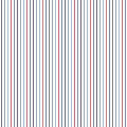Tapetti Stripes 137308 0,53x10,05 m sininen/punainen non-woven