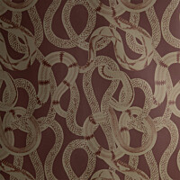 Tapetti Studio Lisa Bengtsson Snake peek punainen 0,53x10,05 m non-woven
