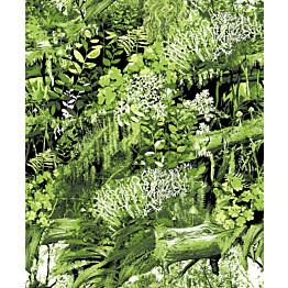 Tapetti Trollskogen 5223-2 0,53x11,2 m vihreä